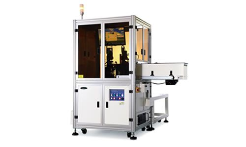 ACV-1606 Eddy current and optical inspection machine